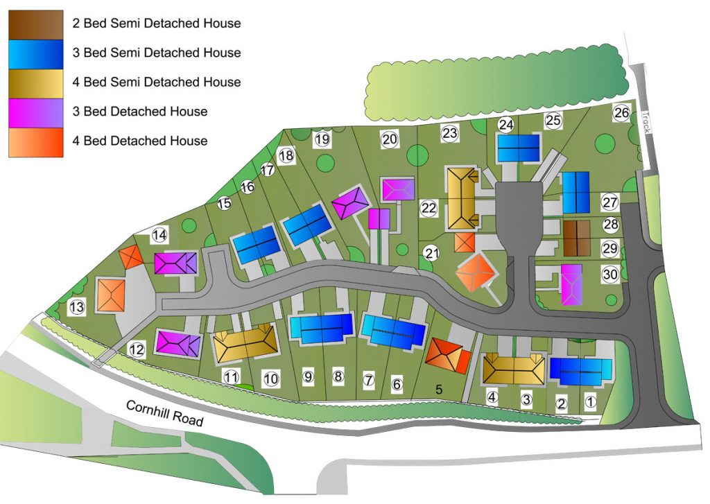 Cornhill Road Development Plan